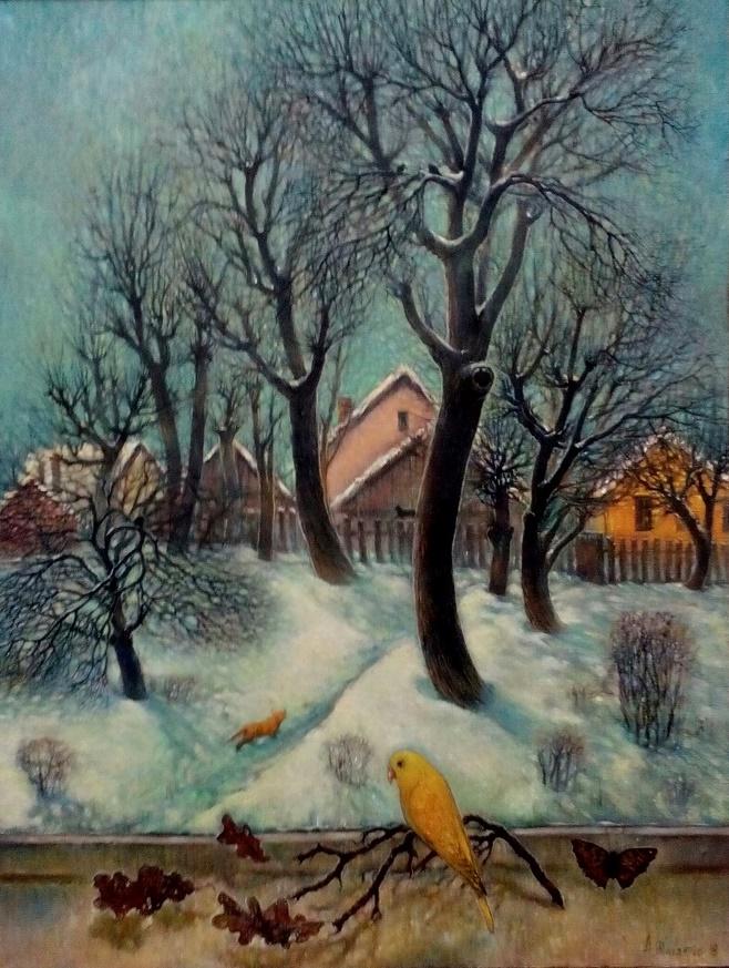 Победителем конкурса памяти Гавриила Ващенко названа картина Анжелики Шабалтас!!! Поздравляем!!!